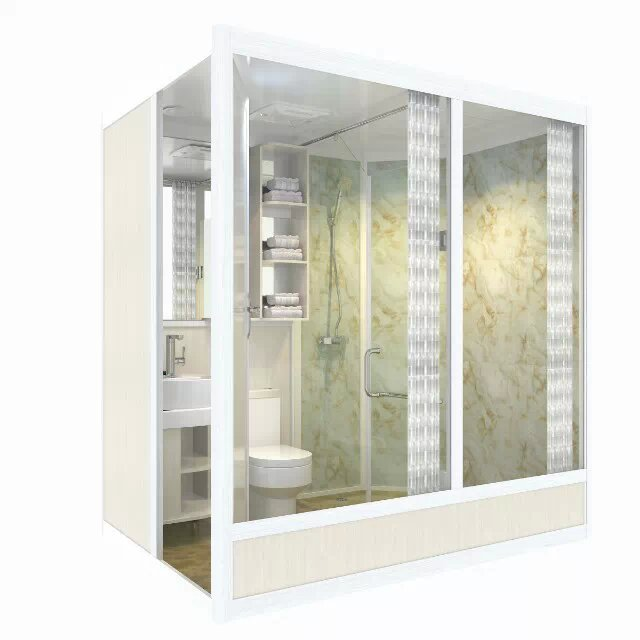 供应内蒙整体淋浴房集成卫生间定做