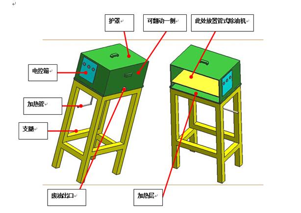 供应脱脂线配套管式除油机原理
