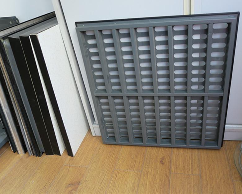 上海供应通风板 全钢防静电通风活动地板