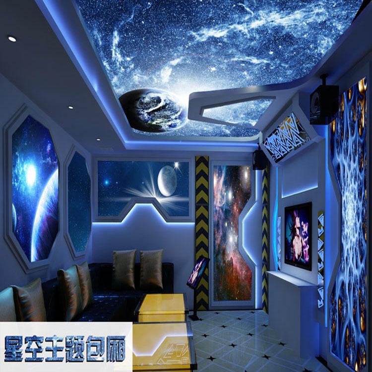 最新流行3D视觉立体超级震撼电视背景墙定制