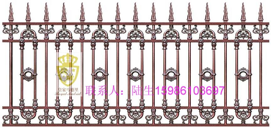 供应庭院外墙铝合金围栏