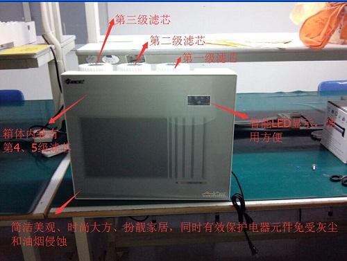 立康源家用反渗透净水器苹果机安装步骤主要分为下面7步:       1