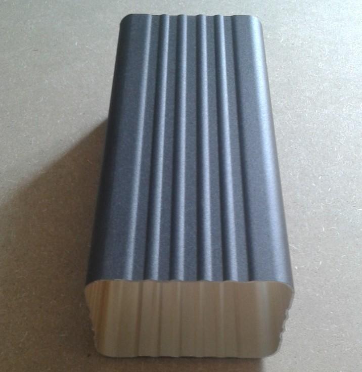 供应和顺县铝合金方形雨水管成品天沟雨槽
