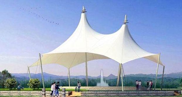 供应天津钢结构膜结构车棚遮阳棚包设计安装