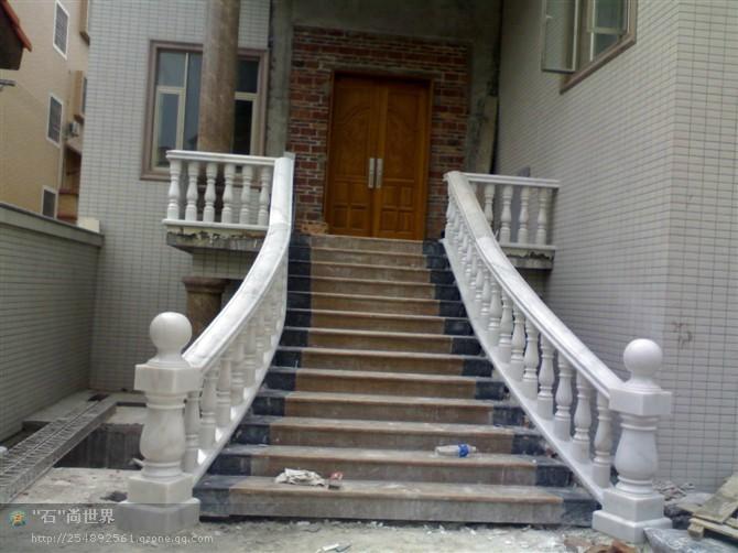 大理石楼梯,栏杆图片,楼梯扶手 / 大理石楼梯扶手图片