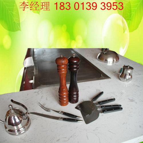 日式铁板烧设备-日本料理专用铁板烧烤设备