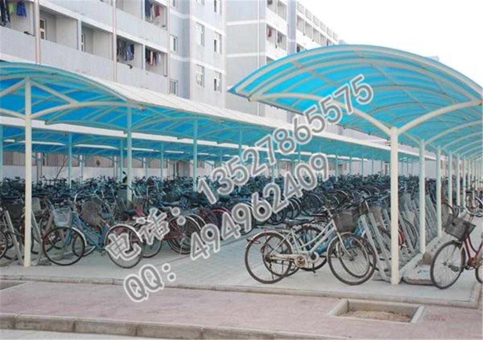 广州钢结构雨棚 阳光板单车棚-雨棚-广州钢结构工程