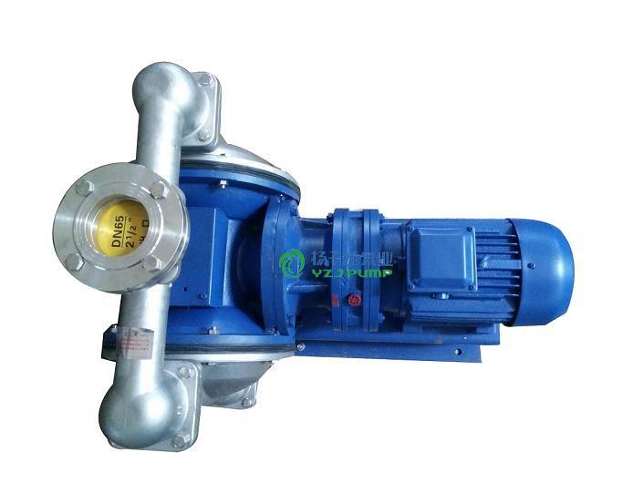 供应DBY-50不锈钢电动隔膜泵,防爆隔膜泵