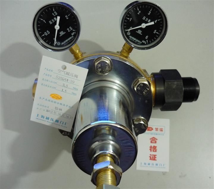 上海繁瑞空气压力表525q-44-39空气减压阀图片