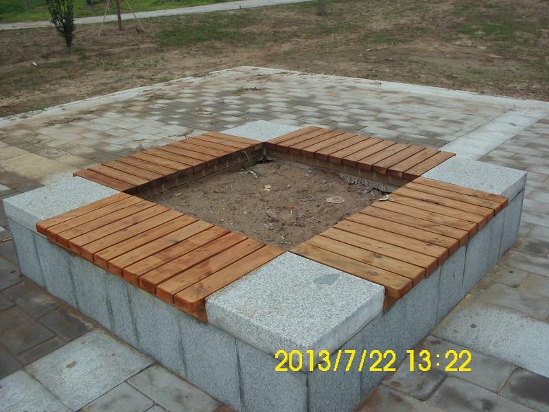 焦作防腐木,公园座椅