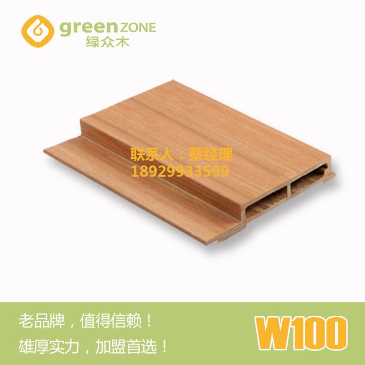 供应防水防虫木塑墙板