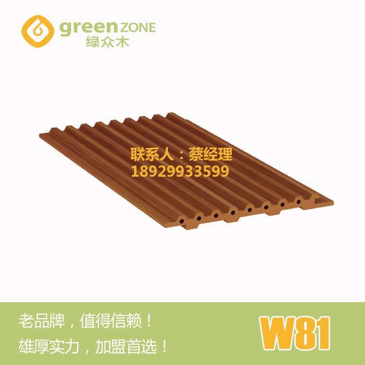 供应免漆塑木墙板