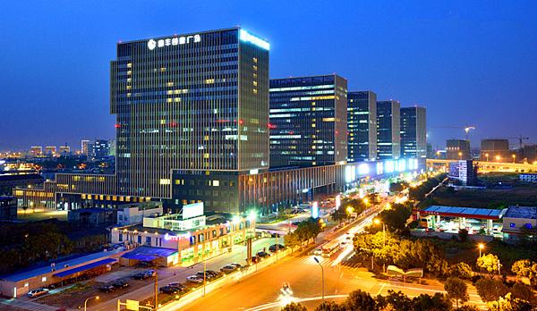 和丰创意广场位于宁波市江东区滨江大道以东图片