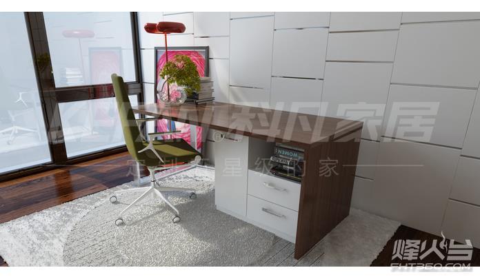 供应板式书桌 书房书桌 科凡衣柜 广东衣柜