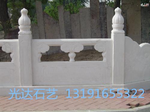 供应草白玉凉亭、草白玉栏杆、芝麻白护栏
