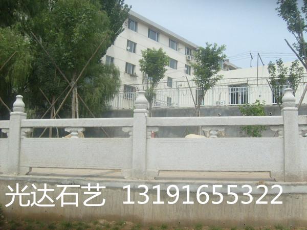 草白玉桥栏杆,草白玉河岸护栏、大理石栏杆