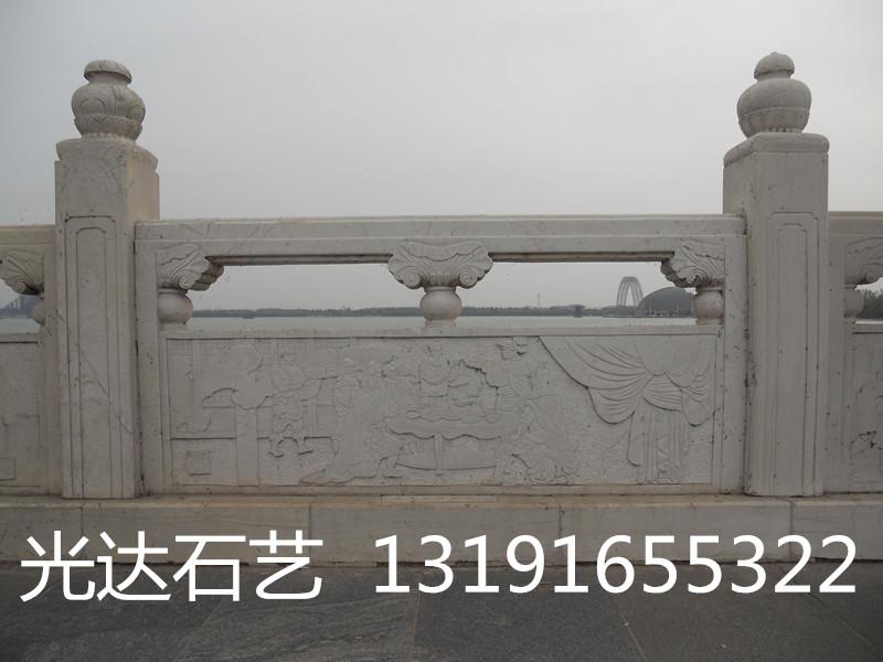 供应草白玉桥栏杆,景观桥草白玉护栏