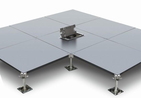 供应OA全钢超低多功能网络架空活动地板