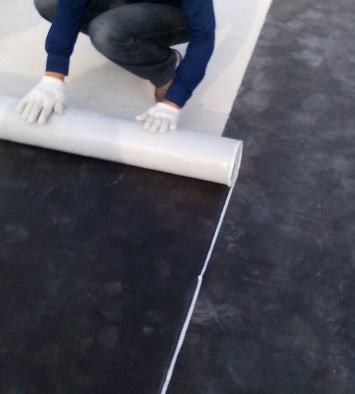 供应鹤岗彩钢板防水材料丁基橡胶卷材