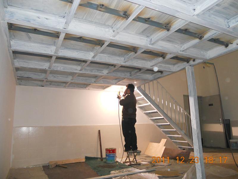 挑空隔层搭建室内钢结构隔断搭建 楼房加层,专业二层搭建,楼顶加层,钢