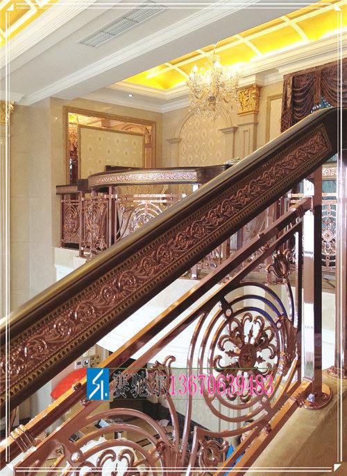 楼中楼不锈钢楼梯护栏 复式楼楼梯护栏规格