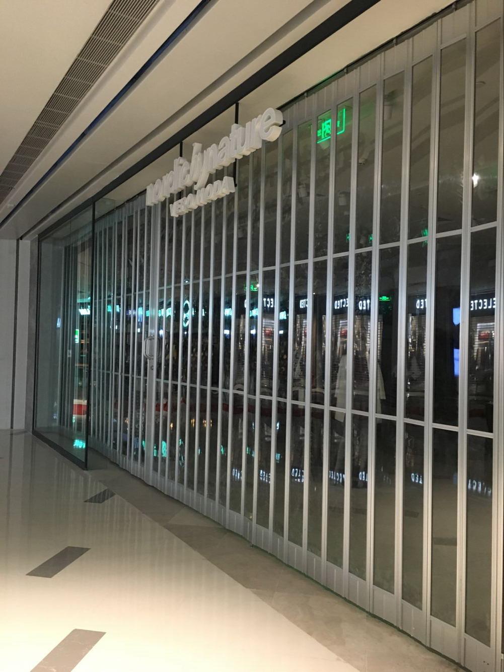 海南水晶折叠门