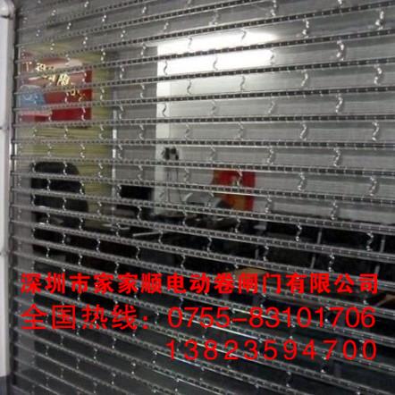 上海水晶折叠门