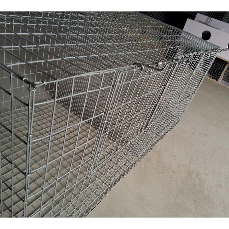 狗笼子菱形铁丝网批发价格/宠物笼菱形网