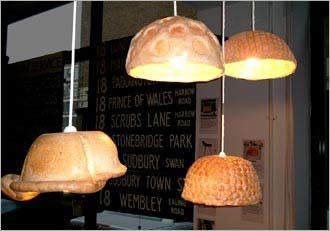 麻子灯罩:象面包一样蓬松柔软