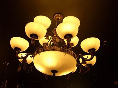 怀旧风情 欧式古典灯(组图)