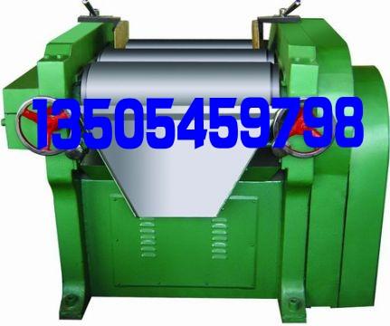 三辊研磨机在油墨生产中情况通报  13505459798