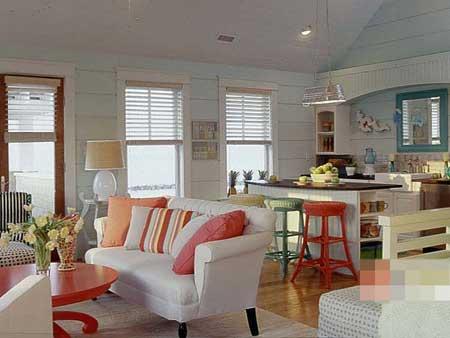 抢眼厨房小吧台 营造现代家居时尚氛围