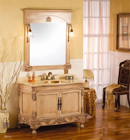 实木浴室柜的保养与维护