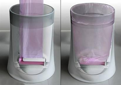 随意抽用垃圾桶 不错的懒人设计