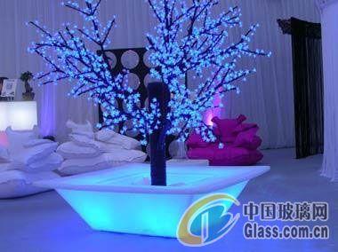 可爱磨砂玻璃灯 营造美丽温馨冰雪世界