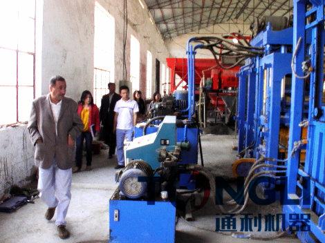 河南通利打造低碳节能、高效的免烧砖机设备!