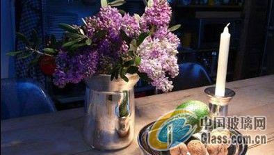 烛光晚餐完美伴侣水银玻璃餐具