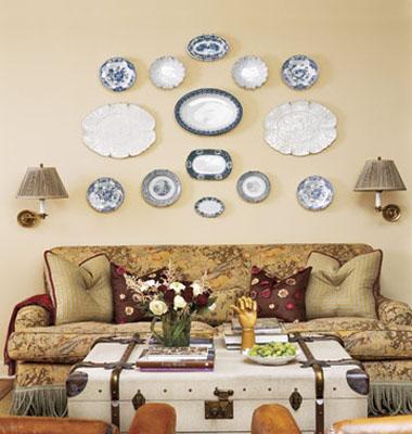 家居盘子墙面装饰新风尚