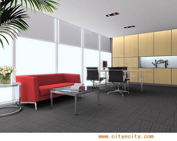 办公室装修关于隔断和天花合理设计