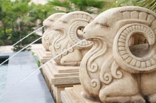 用石材雕刻机实现砂岩雕塑
