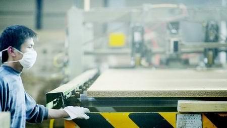 公安县秸秆材料生产新型环保板材