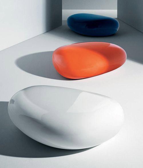 摩登彩绘玻璃纤维多功能咖啡桌