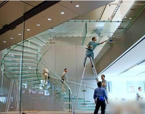 苹果公司的玻璃楼梯成功申请专利