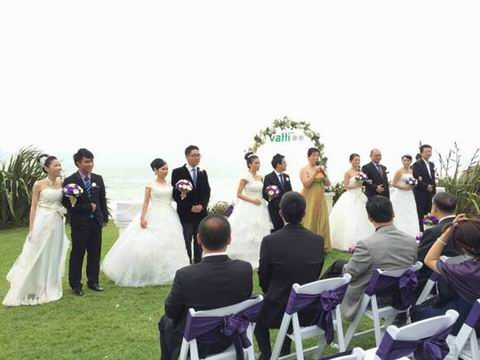 情定新西兰 浪漫一生 ―― 5对新人双11圆梦庄园婚礼
