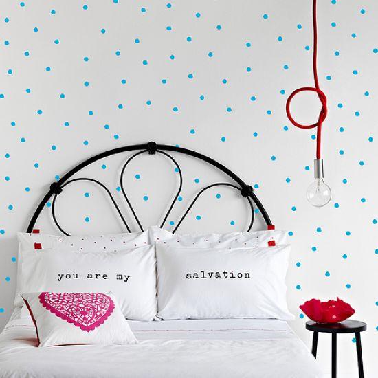 用墙纸美化家居空间 可拆卸壁纸墙贴欣赏