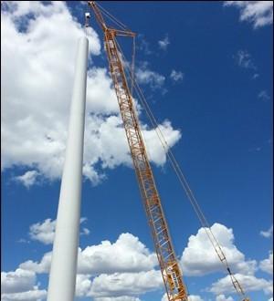 徐工QUY400履带起重机助力新疆风电建设