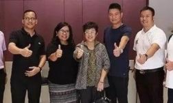 科凡定制引海外关注 印尼家具协会副会长一行到访