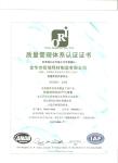 ISO9001-2008认证