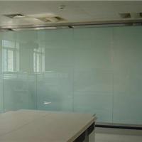 双玻璃固定隔断