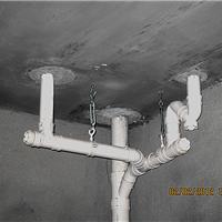 新建楼房预留洞上下水管道吊模